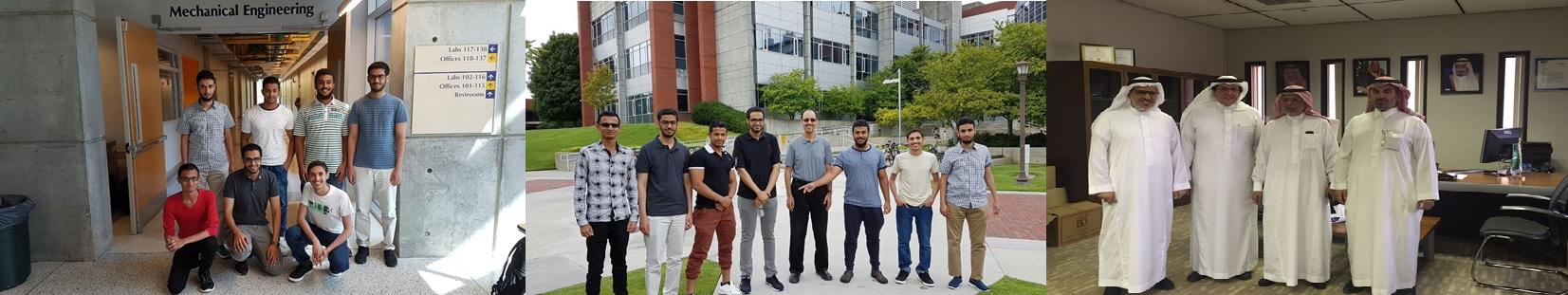 كلية الهندسة تبتعث طلاب... - ضمن مبادرات كلية الهندسة...