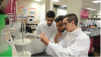 Environmental Engineering Lab - students