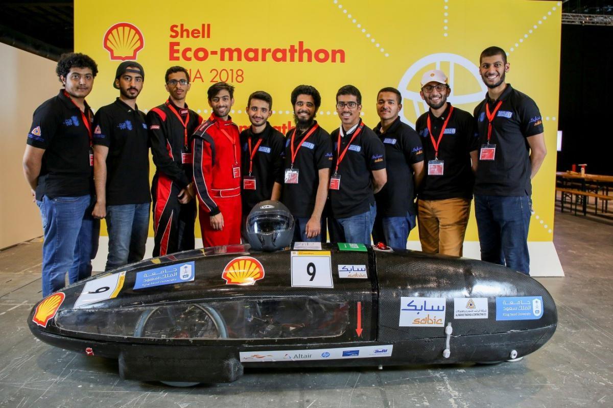 فريق جامعة الملك سعود (سعف)... - حقق فريق سعف من كلية الهندسة...