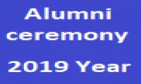 Alumni ceremony